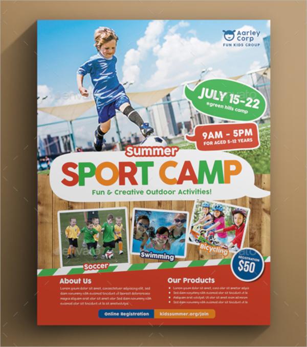 20+ Camp Flyer Templates - PSD, Vector EPS - camp flyer template