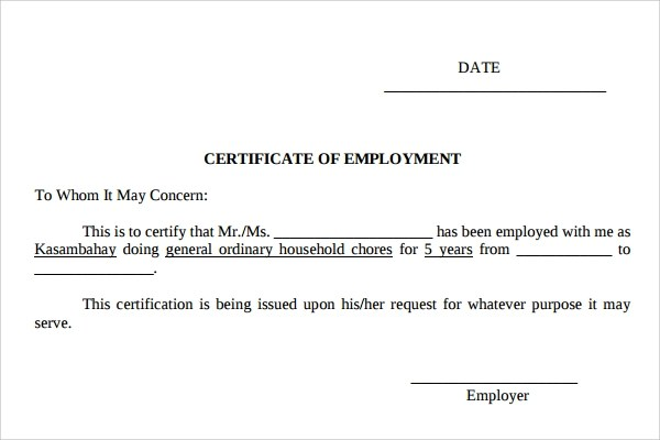30+ Sample Certificate Templates Sample Templates