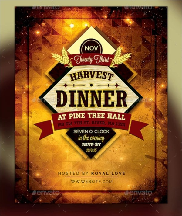 19+ Dinner Flyers Sample Templates