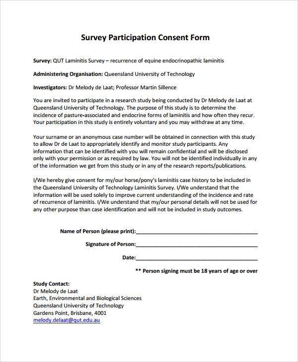 survey consent form hitecauto - research consent form template