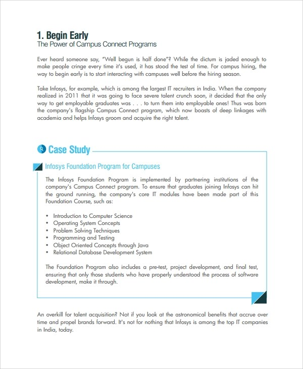 Sample Recruitment Strategy - 6+ Documents in PDF