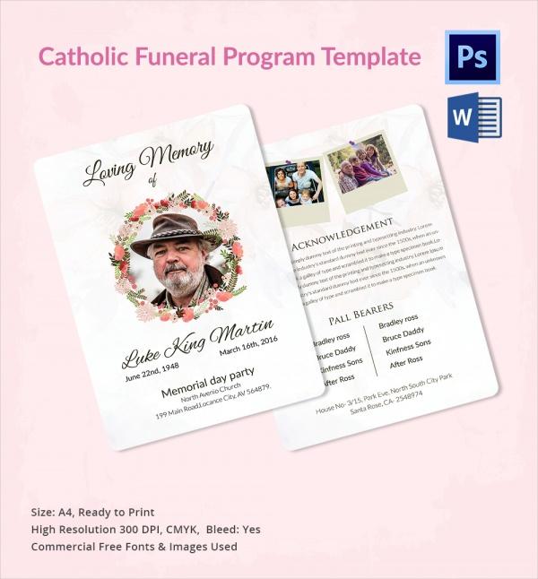 funeral flyer template - Pinarkubkireklamowe