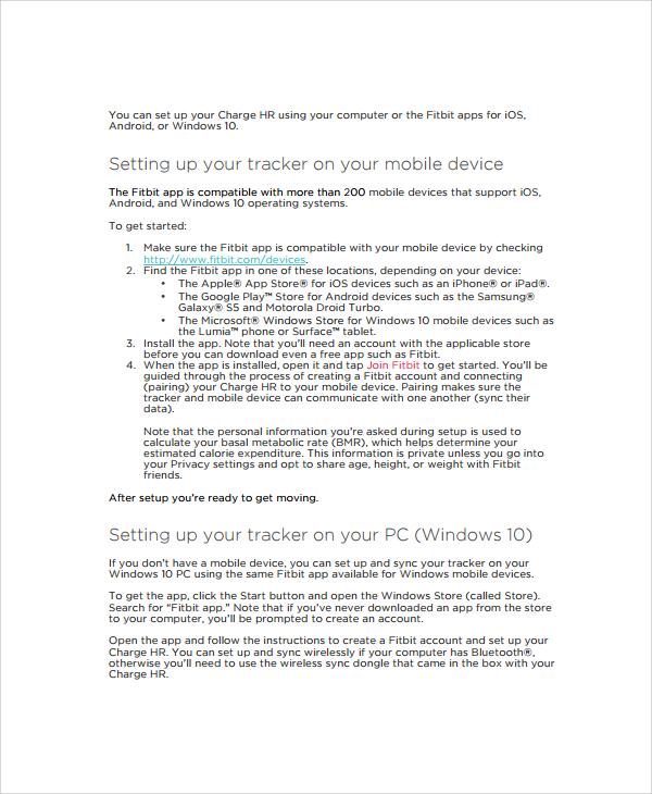 Doc#12421600 Instructional Manual u2013 Instruction Manual Example - instructional manual