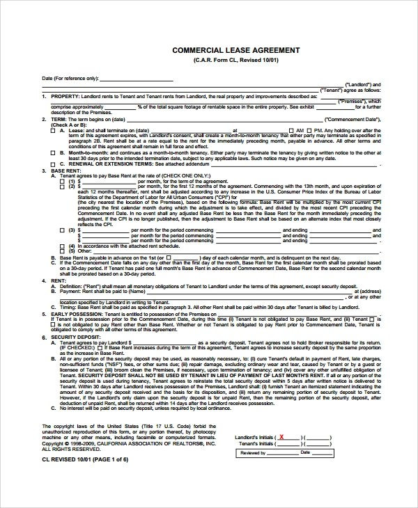 8+ Sample Commercial Lease Termination Agreements Sample Templates - lease termination agreement