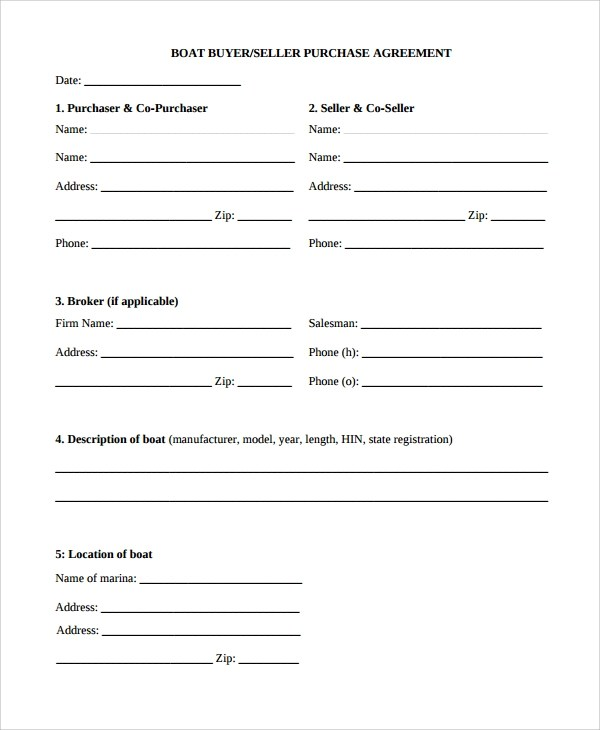 8+ Purchase Agreements Examples  Templates Sample Templates