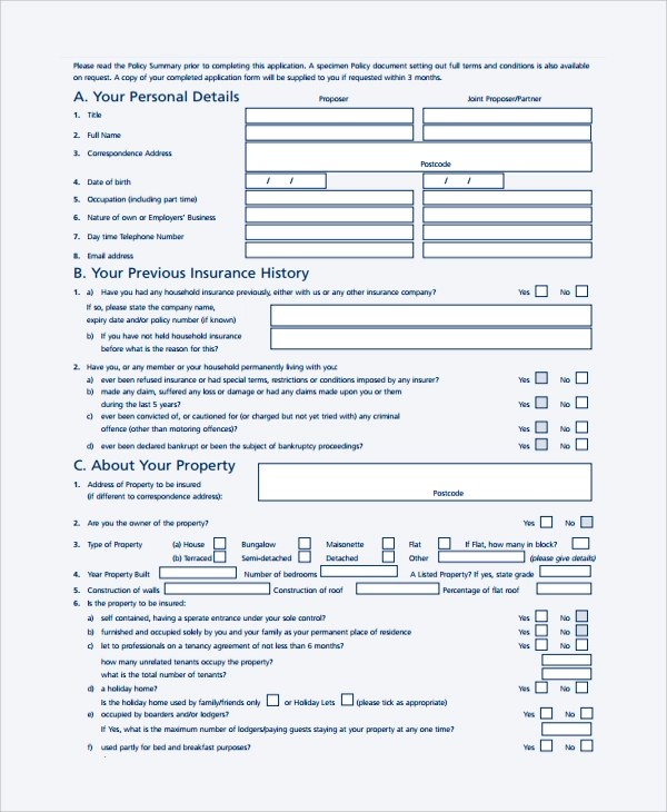 Sample Proposal Form - 7+ Documents in PDF, Word
