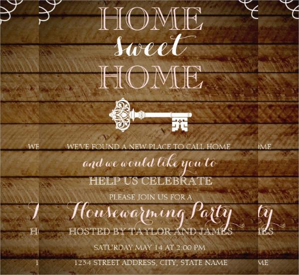 16+ Housewarming Invitation Templates Sample Templates - housewarming invitation template