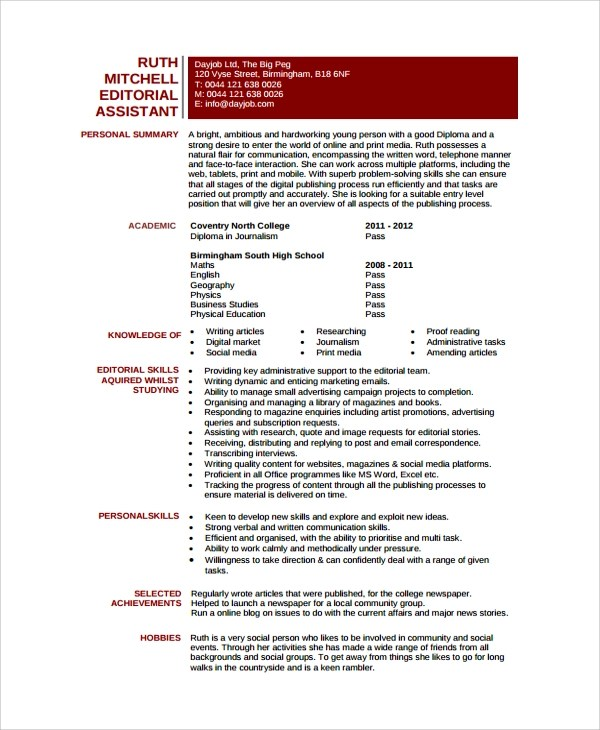 sample resume 24 documents in pdf word editor resume