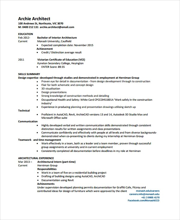 25+ Sample Resumes Sample Templates - Achievements For Resume