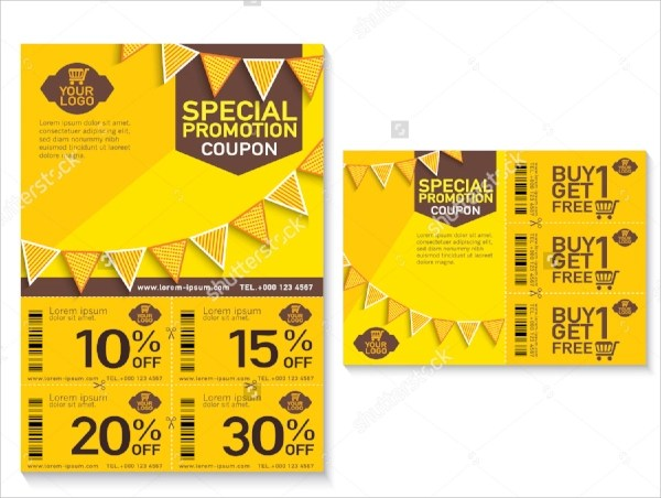 coupon flyer template - Onwebioinnovate