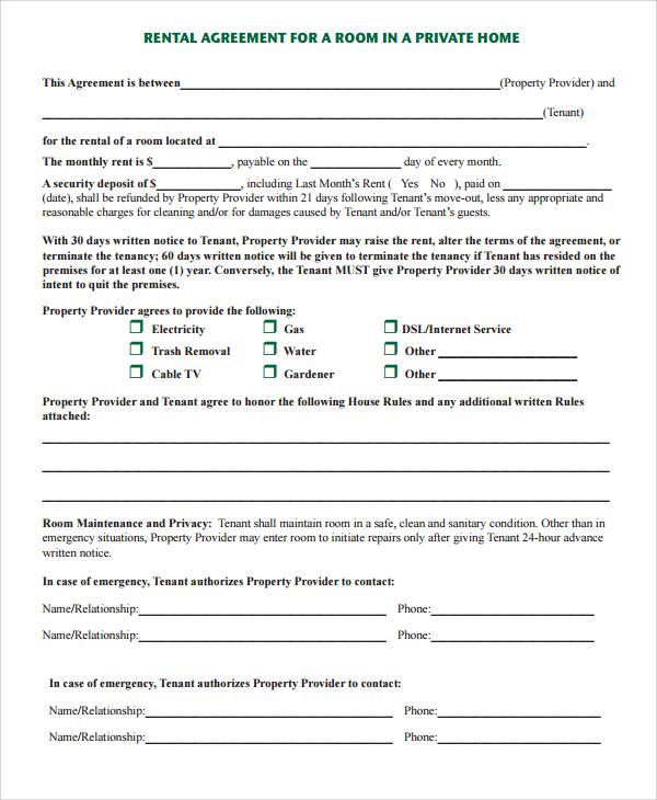 Define Rental Agreement Templatebillybullockus