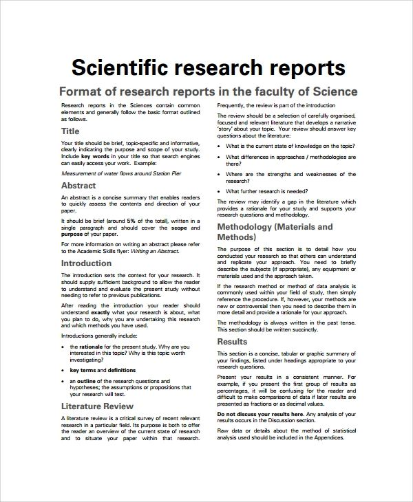 scientific paper template word