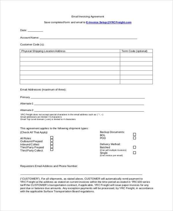 Sample Freelance Invoice - 7+ Documents in PDF, Word