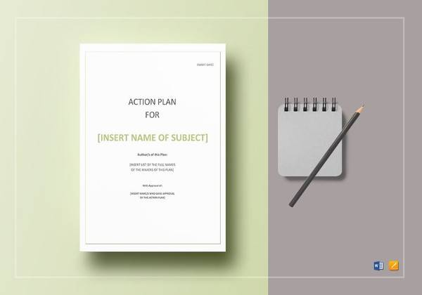 Sample Personal Action Plan - 11+ Documents In PDF, Word