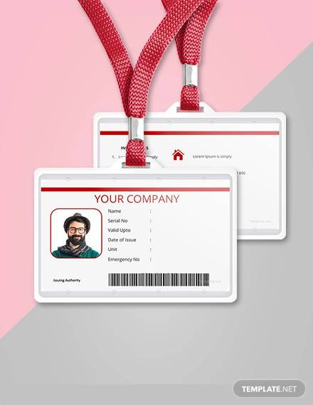 36+ Amazing ID Card Templates - AI, Word, Apple Pages