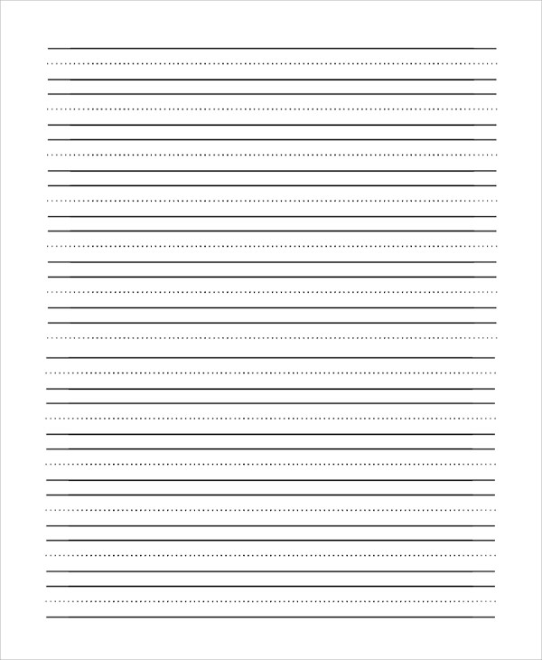 8+ Sample Lined Papers Sample Templates