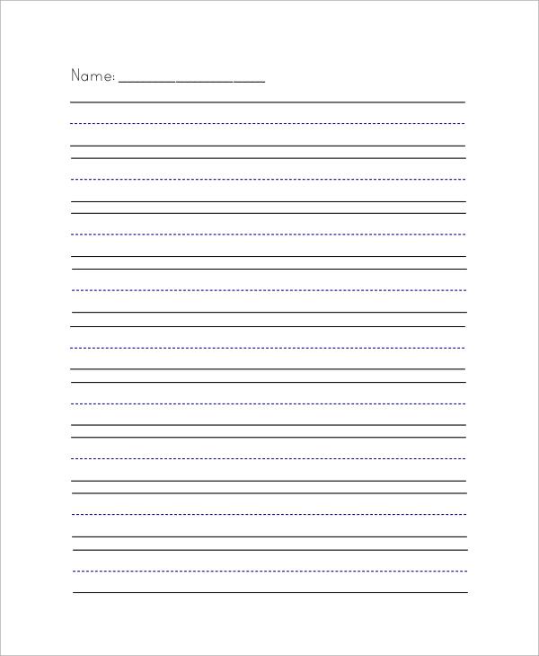 Sample Lined Paper  NodeCvresumePaasproviderCom