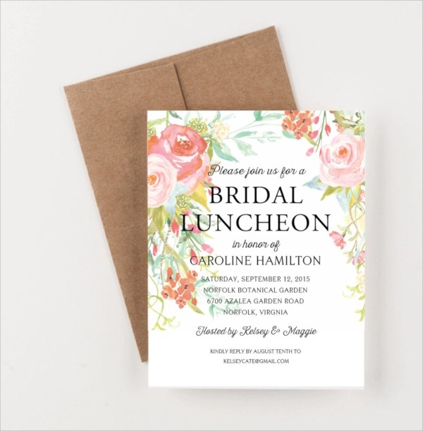 15+ Lunch Invitations Sample Templates