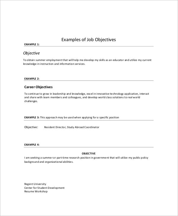 how to type resume for job