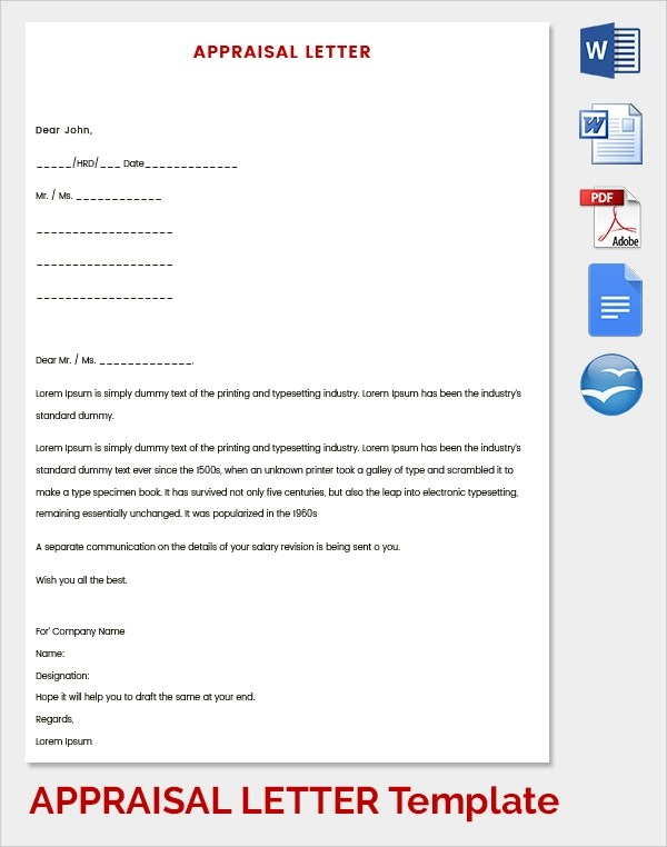 How To Write Promotion Request Letter Sample Template Letter Of Appraisal Page 61; 62 Performance Appraisal