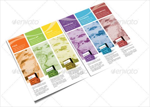 Software Brochure Web Design Proposal Modern Corporate Brochure