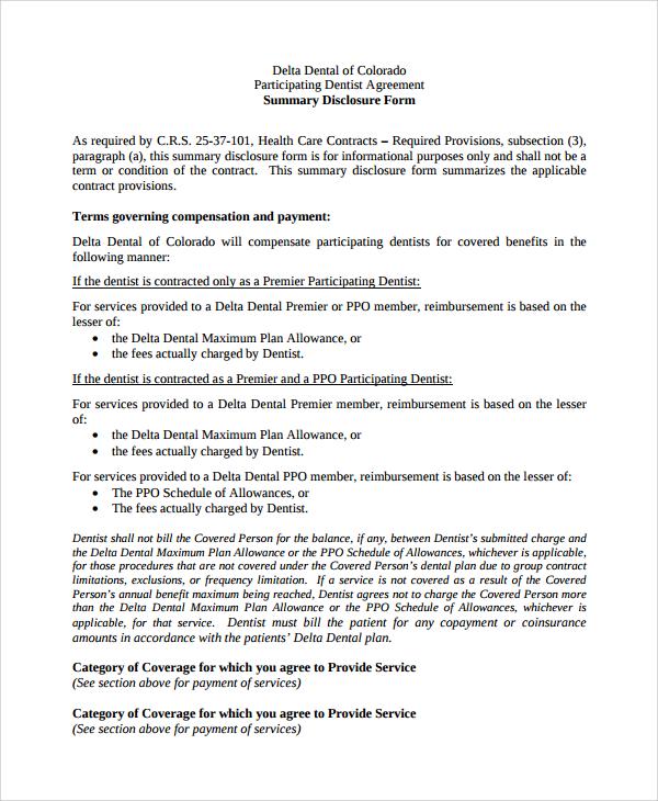 8+ Sample Dentist Employment Agreements Sample Templates - dentist employment agreement
