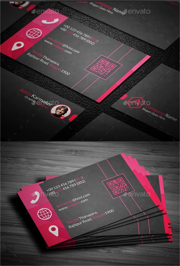 8+ Sample Name Cards Sample Templates - template for name cards