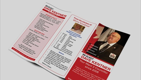 6+ Election Brochures Sample Templates