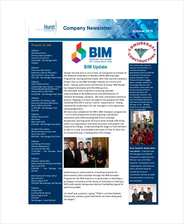 Company Newsletter  EnvResumeCloudInterhostsolutionsBe