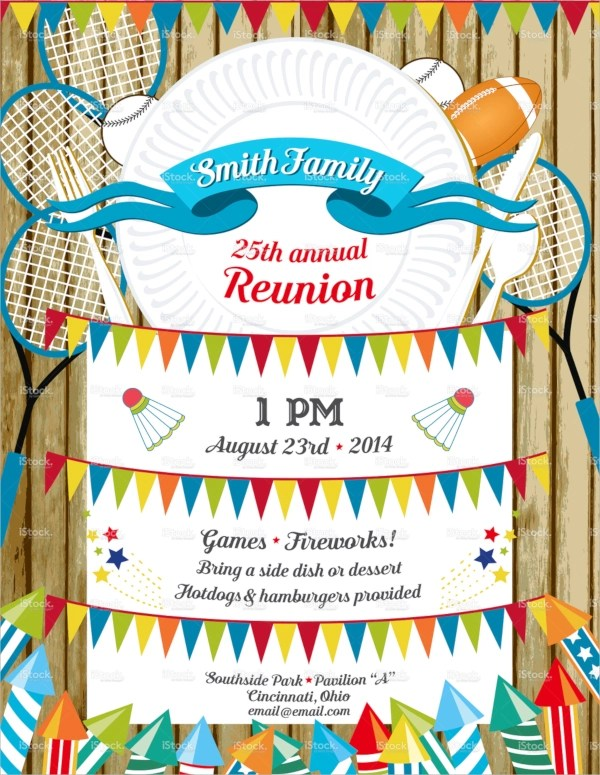 16+ Sample Family Reunion Invitations Sample Templates - invitations for family reunion