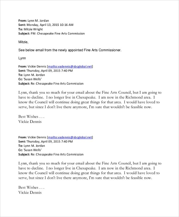 Sending Resignation Letter By Email Functional Resume Template For