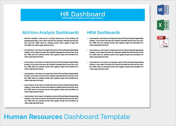 9+ Sample HR Dashboards Sample Templates