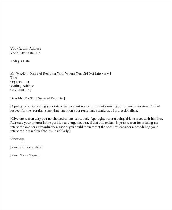 7+ Sample Personal Apology Letters Sample Templates - letter of apology sample