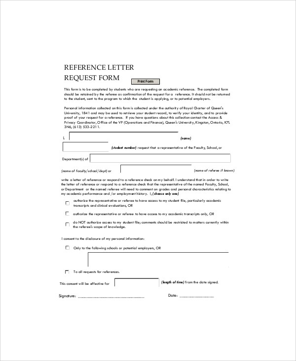 Doc 12751650 Employment Reference Request Letter Employment - reference request letter