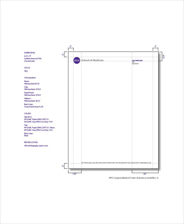 6+ Personal Letterhead Samples Sample Templates - letterhead sample