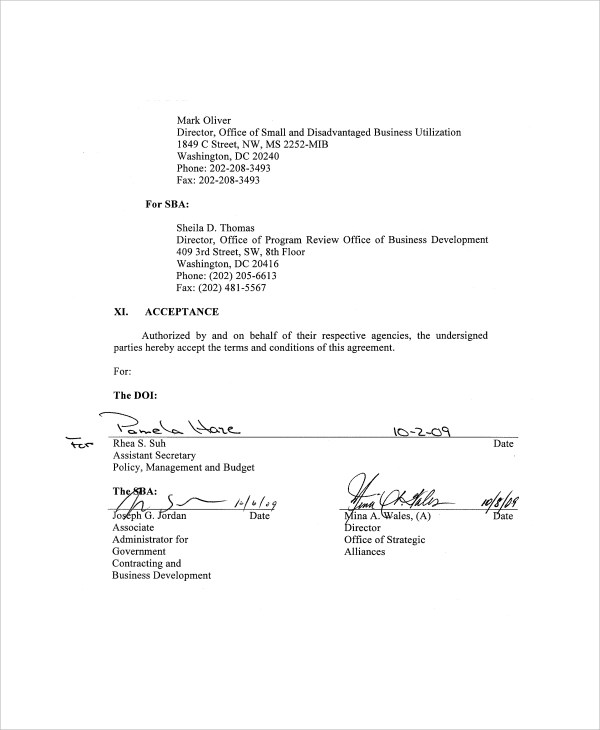 7+ Sample Business Partnership Agreements Sample Templates