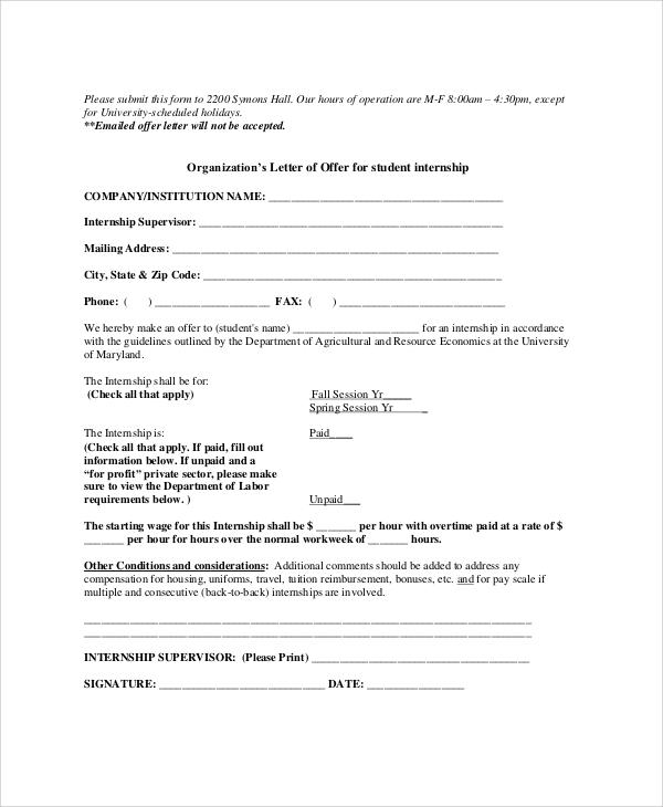 internship proposal letter - Pinephandshakeapp