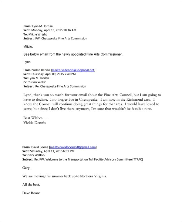8+ Best Resignation Letter Examples Sample Templates