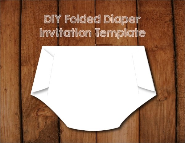 13+ Sample Diaper Invitations Sample Templates