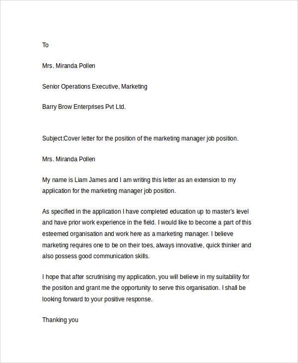 application letter resume
