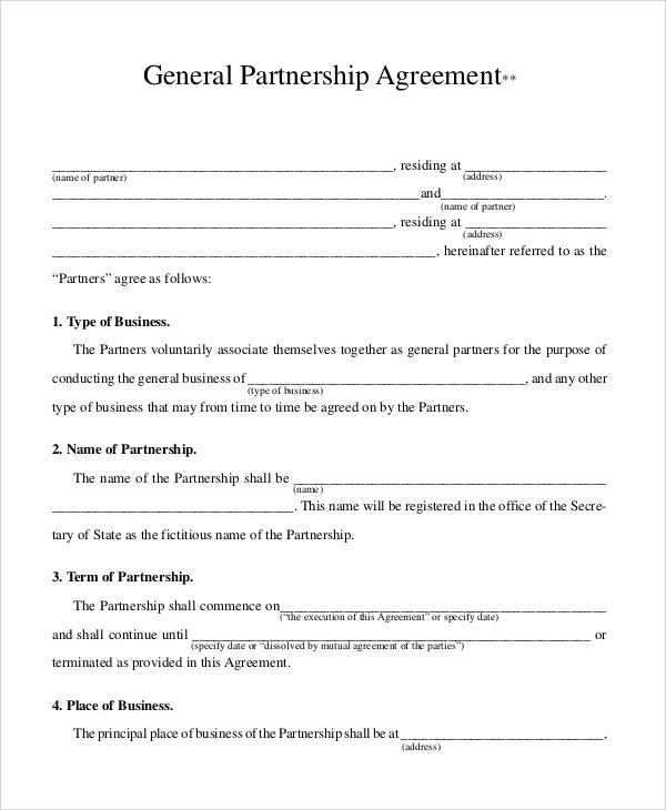 Sample Business Contract - 8+ Documents in PDF - sample business agreements