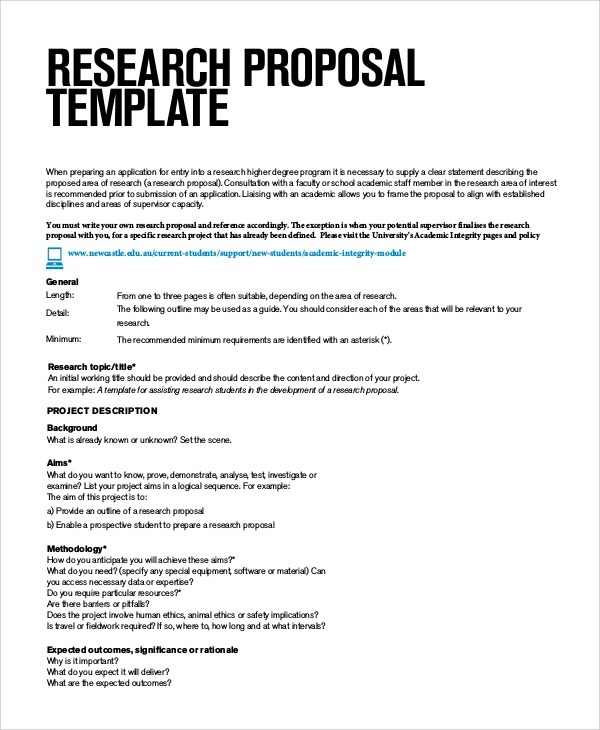 Sample Phd Research Proposal
