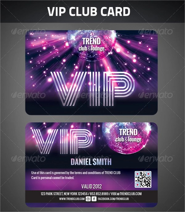 11+ Sample Membership Cards Sample Templates