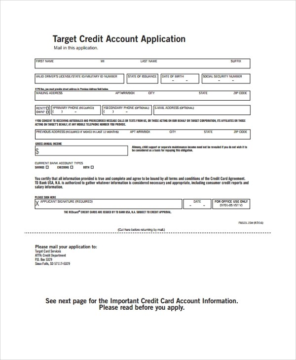 target application form | efficiencyexperts.us