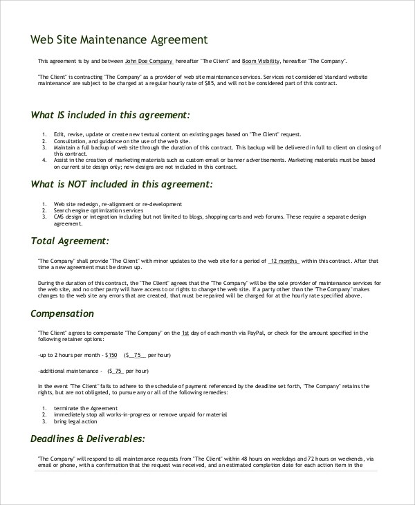 website development agreement - Teacheng - development agreement contract
