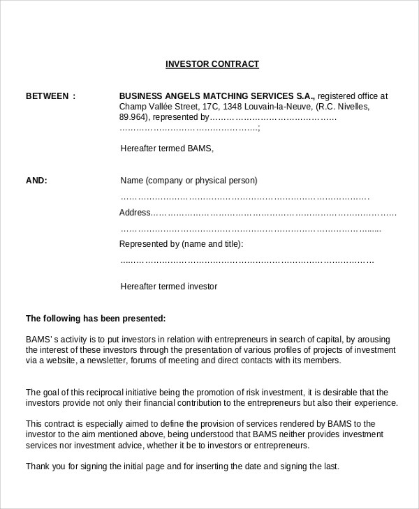 Sample Business Agreement Contract - 8+ Documents in PDF - sample business agreements