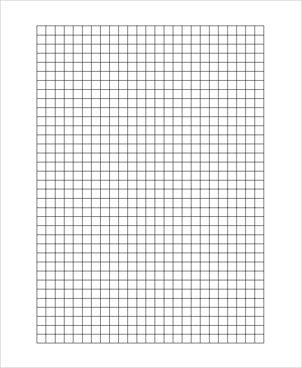 Sample Graph Paper - 7+ Documents in PDF, Word, Excel - graph paper word document