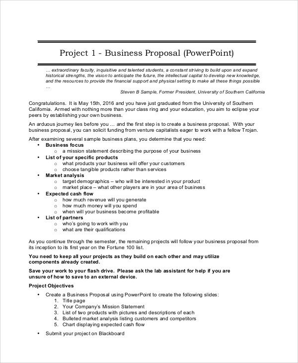 Project Proposal Sample - 5+ Documents in PDF - project proposal