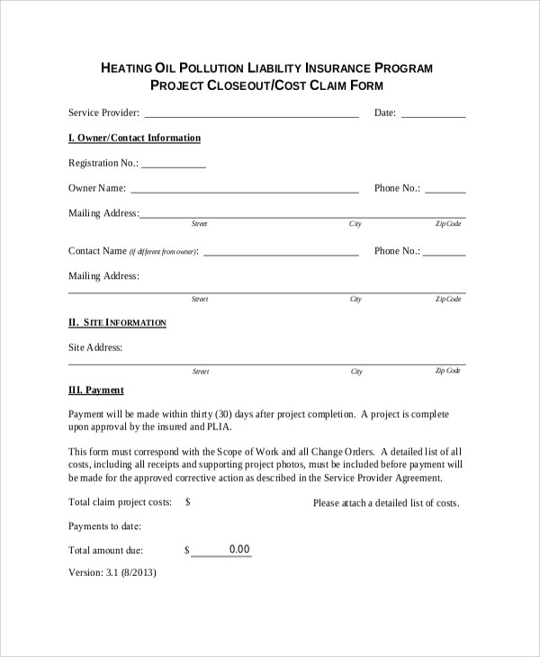 Sample Project Closeout - 7+ Documents in PDF, WORD