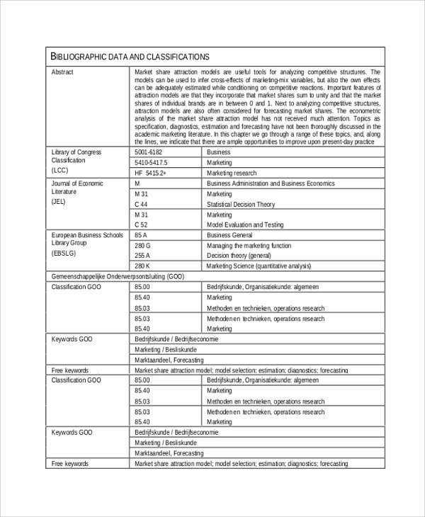 Competitive Analysis Sample Competitive Analysis Template In Word - competitive analyst sample resume